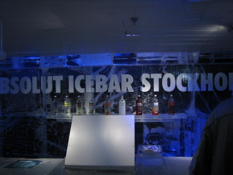 Icebar Stockholm