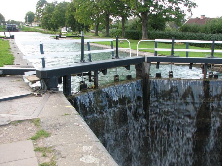 Schleuse Göta Kanal