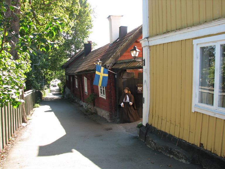 Straße Sigtuna