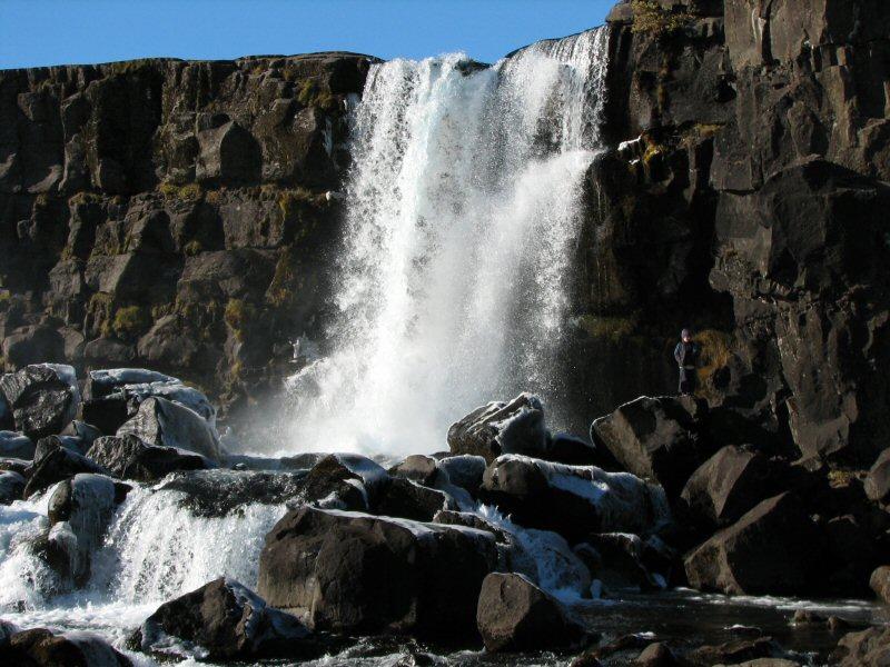 Tingvellir - Wasserfall