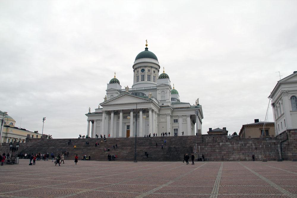 Helsinki Senatsplatz und Kathedrale