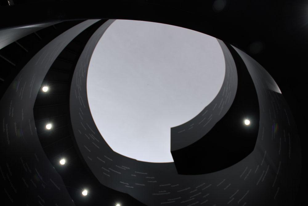 Oodi-Bibliothek Treppe