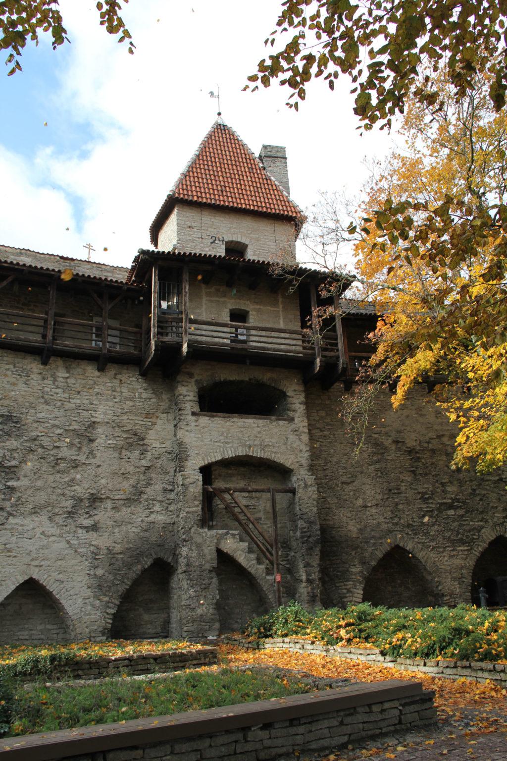 Stadtmauer-Tallinn