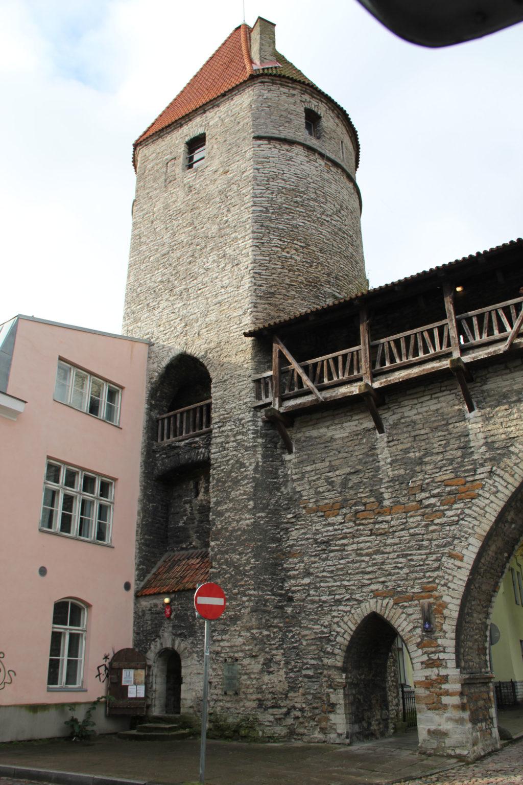 Stadtmauer-Turm-Tallinn