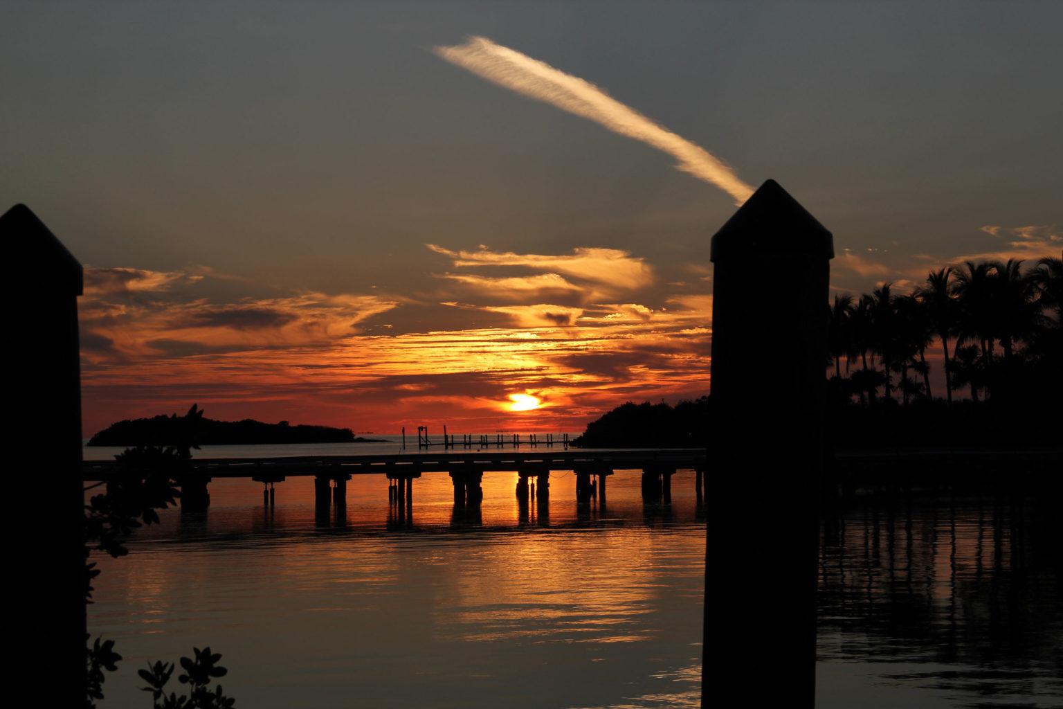 Sunset Florida-Keys